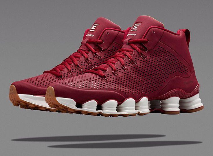 Nike Shox TLX Mid Team Red