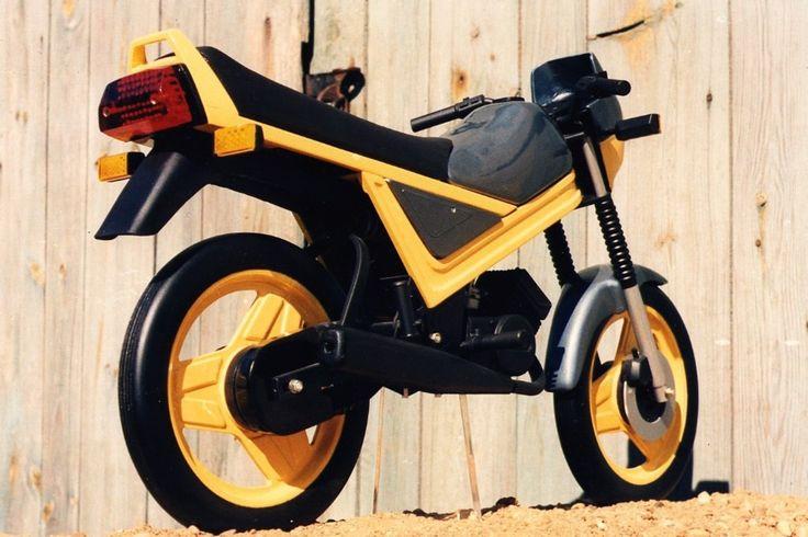 Prototype S55-2 Kleinkraftrad, Modell 1988