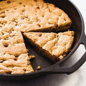 Cast-Iron Skillet Chocolate Chip Cookie | America's Test Kitchen