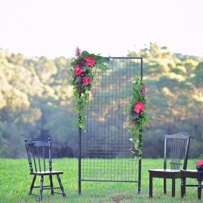 Port Douglas Wedding Arch Hire Chic Wedding Backdrop