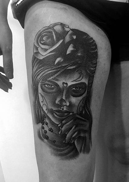 Tatuaje de catrina realizado en nuestro centro de la Vaguada de Madrid.    #tattoo #tattoos #tattooed #tattooing #tattooist #tattooart #tattooshop #tattoolife #tattooartist #tattoodesign #tattooedgirls #tattoosketch #tattooideas #tattoooftheday #tattooer #tattoogirl #tattooink #tattoolove #tattootime #tattooflash #tattooedgirl #tattooedmen #tattooaddict#tattoostudio #tattoolover #tattoolovers #tattooedwomen#tattooedlife #tattoostyle #tatuajes #tatuajesmadrid #ink #inktober #inktattoo