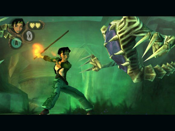 Beyond Good& Evil  Oh how it was a wonderful experience  Makes me sad that the sequel is suspended =(
