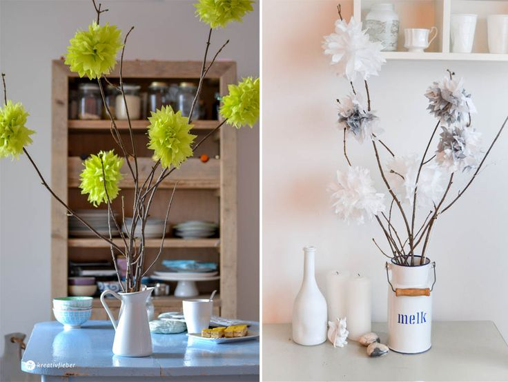 25+ Best Ideas About Blumen Aus Servietten On Pinterest ... Garage Dekoration Mit Blume