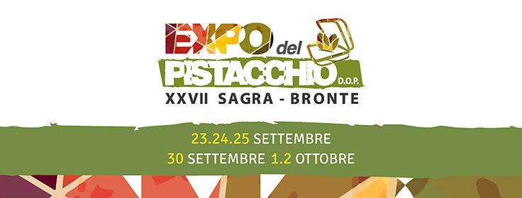 EXPO DEL PISTACCHIO 2016 Bronte dal 23 al 25 Settembre 2016Bronte dal 30 Settembre al 2 Ottobre 2016   ...