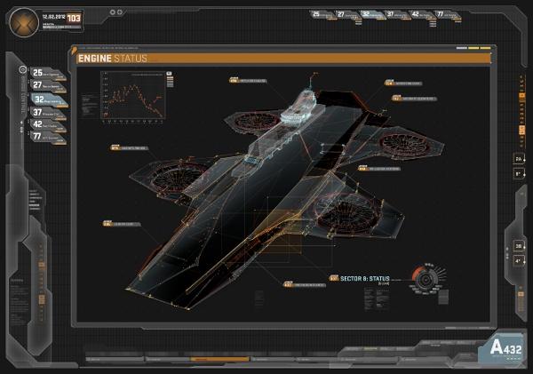 The Avengers UI-design