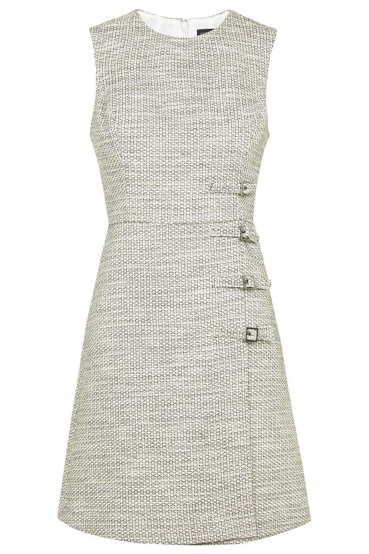 Buckle Detail Shift Dress - Dresses - Clothing - Topshop