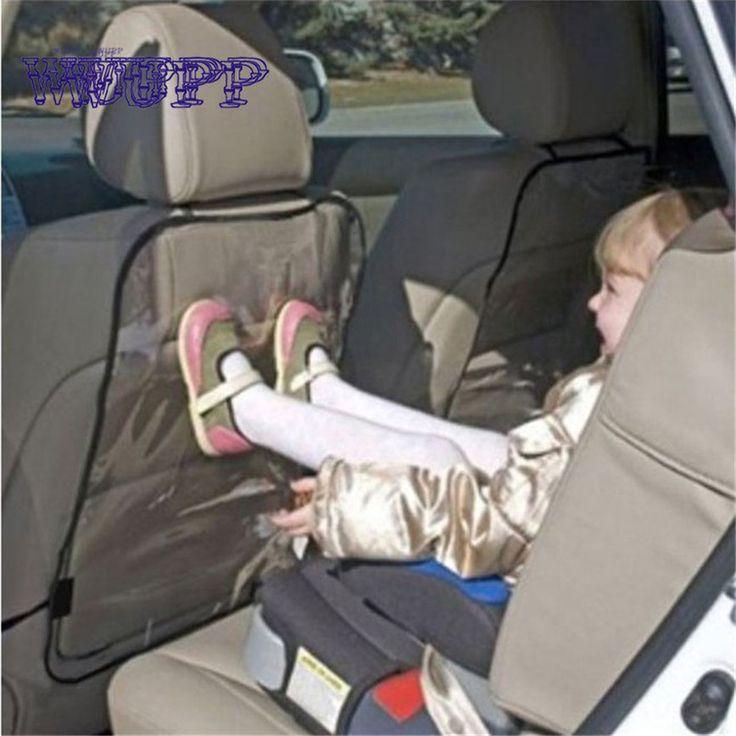 Auto-styling nieuwe collectie 1 st of 2 st kinderen kick matten auto seat back protectors auto cover voor auto accessoire