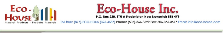 Eco-House Inc. - Natural Wood Finishes, Fine Art Supplies, Silicate Mineral Coatings