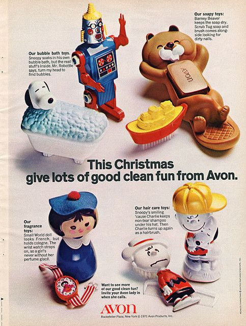 Avon - Lots of good clean fun Soap and bubble bath