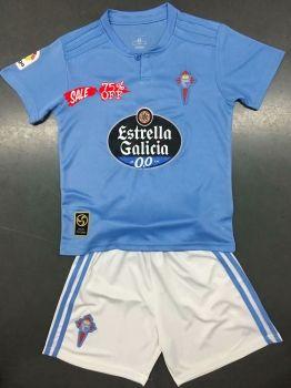 f0661e1c3ba 2018-19 Cheap Youth Kit Celta Vigo Home Replica Soccer Kids Suit [CFC925]