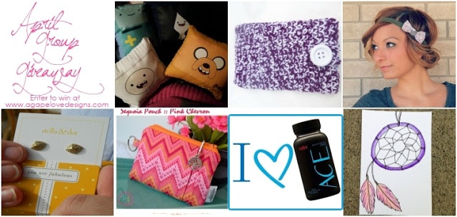Agape Love Designs: April Group Giveaway And Discounts!