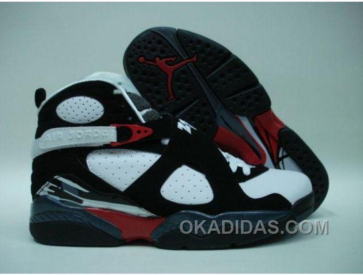 http://www.okadidas.com/air-jordan-retro-8-black-white-offres-de-nol.html AIR JORDAN RETRO 8 BLACK WHITE OFFRES DE NOËL Only $68.00 , Free Shipping!