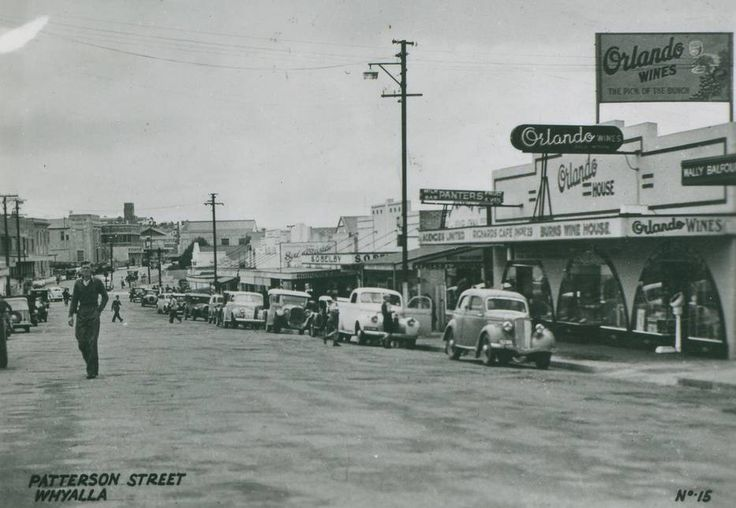 Patterson Street in 1947. Photo: State Library of South Australia, B 11960