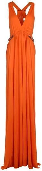 ROBERTO CAVALI Long Dress
