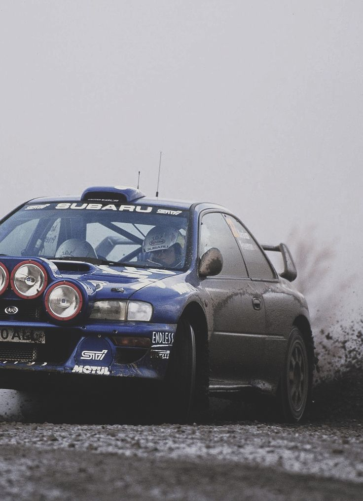 1999 Subaru Impreza WRX STI GC8G P1 Rally Car