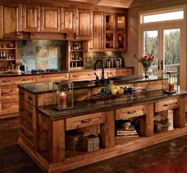 Kitchen Island Kraftmaid 29 best kitchens: natural & warm images on pinterest | kitchen