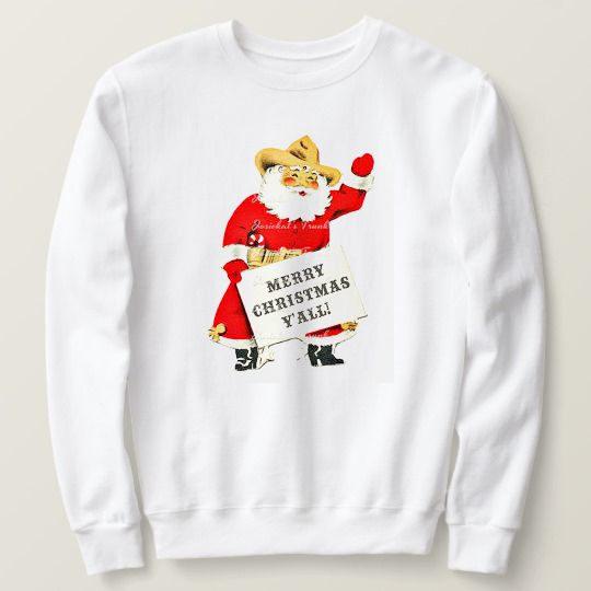 Texas Christmas Custom Sweatshirts