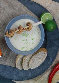 Kokossoepje met Garam Masala-kruiden