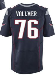"""$78.00--Sebastian Vollmer Jersey - Elite Navy Home Nike Stitched New England Patriots #76 Jersey,Free Shipping! Buy it now:click on the picture, than click on """"visit aliexpress.com"""" In the new page."""