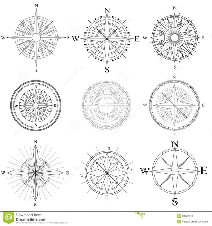 simple compass design - Google Search