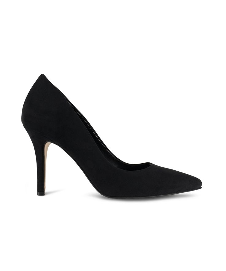 SANTE pointed toe pump for the comfort office style... Black