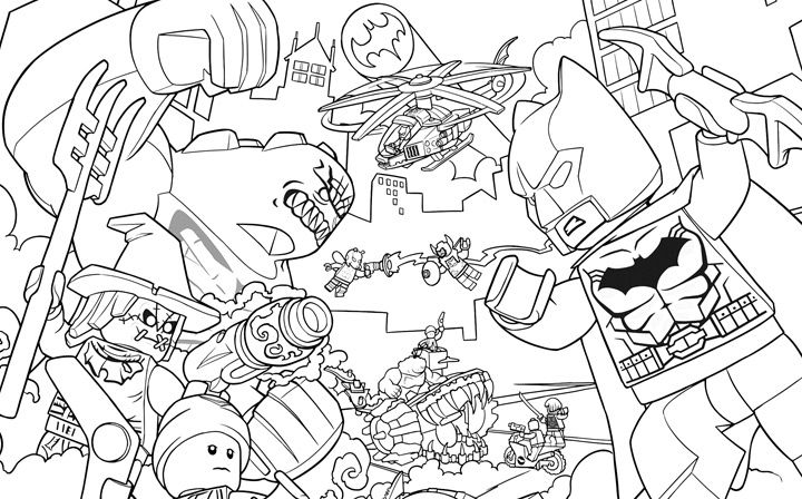 293 best lego coloring sheets images on pinterest for Killer croc coloring pages