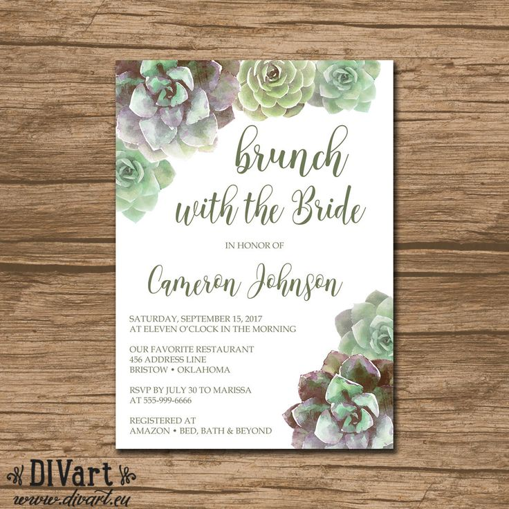 bed bath and beyond wedding invitation kits%0A Bridal Shower Invitation  Couples Shower Invite  Engagement Party Invitation   PRINTABLE files  watercolor