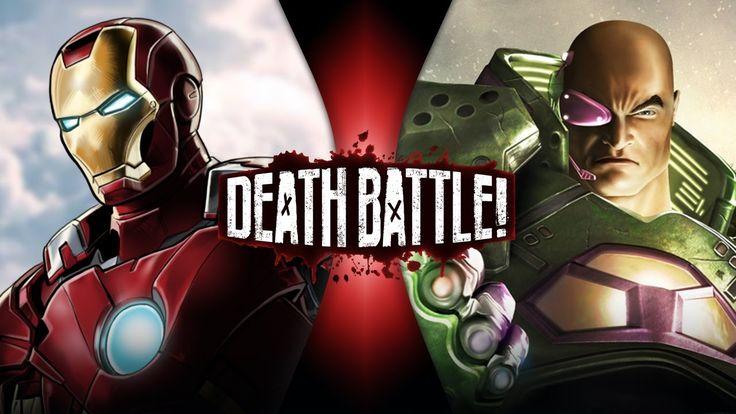 Iron Man VS Lex Luthor | DEATH BATTLE!