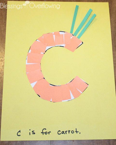 Letter C Preschool Activities