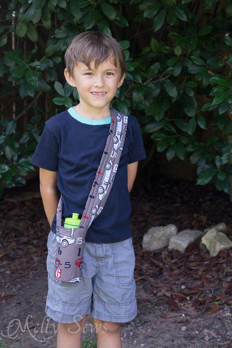 Add Insul-brite and you have an insulated water bottle carrier