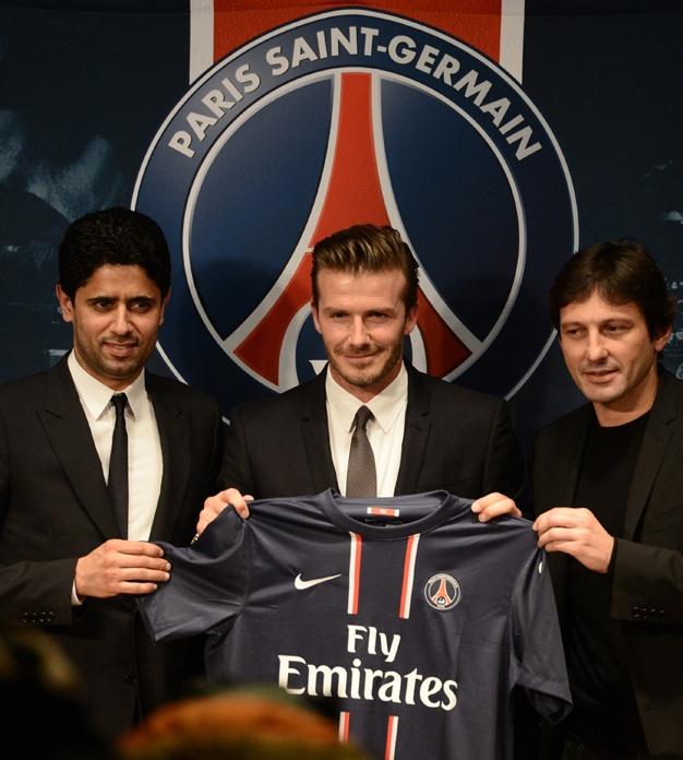 David Beckham signe avec le PSG