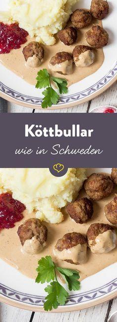 Schwedische Fleischbällchen: Köttbullar mit Preiselbeerkompott – T. H.