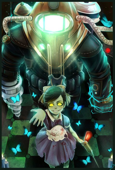 Bioshock 2 by Corvus-Caecus    Love it even though it scares the hell out of me!!