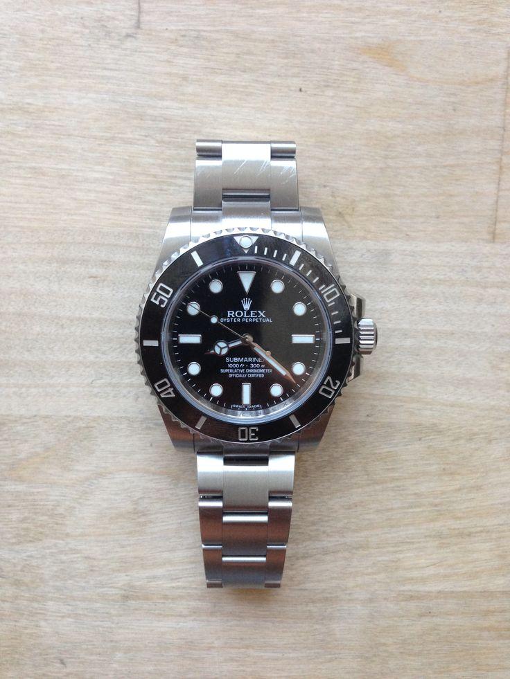 Rolex Submariner no date w. ceramic bezel #rolex #submariner