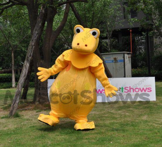 mascotte de dinosaure casimir jaune deguisement casimir pas cher msctt pinterest casimir. Black Bedroom Furniture Sets. Home Design Ideas