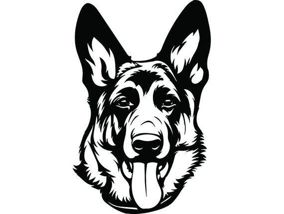German Shepherd 25 Smiling Dog Breed K 9 Pet Police Cop Law Etsy In 2021 Smiling Dogs Dog Stencil German Shepherd
