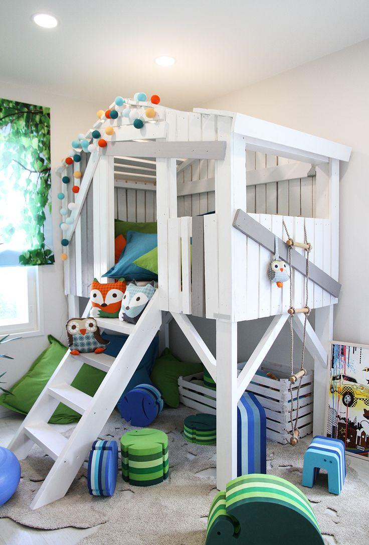 hunajaista lastenhuone asuntomessut maja