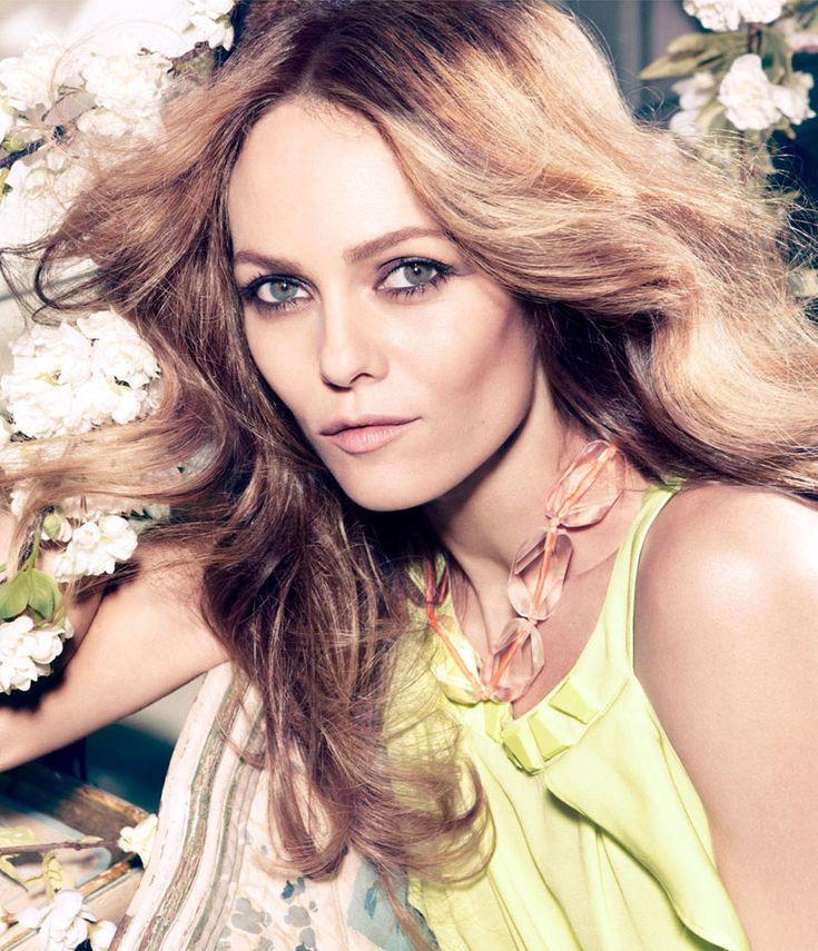 Vanessa Paradis Enchants in H&Ms Spring 2013 Conscious Campaign by Camilla Akrans