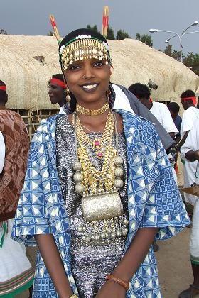 Africa   Afar woman - Festival Eritrea 2006 - Asmara Eritrea.   © Hans van der Splinter