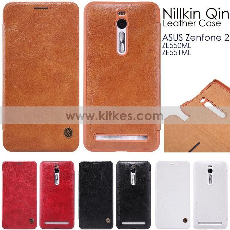 Nillkin Qin Leather Case ASUS Zenfone 2  ( ZE551ML - ZE550ML - 5.5 Inch ) - Rp 190.000 - kitkes.com