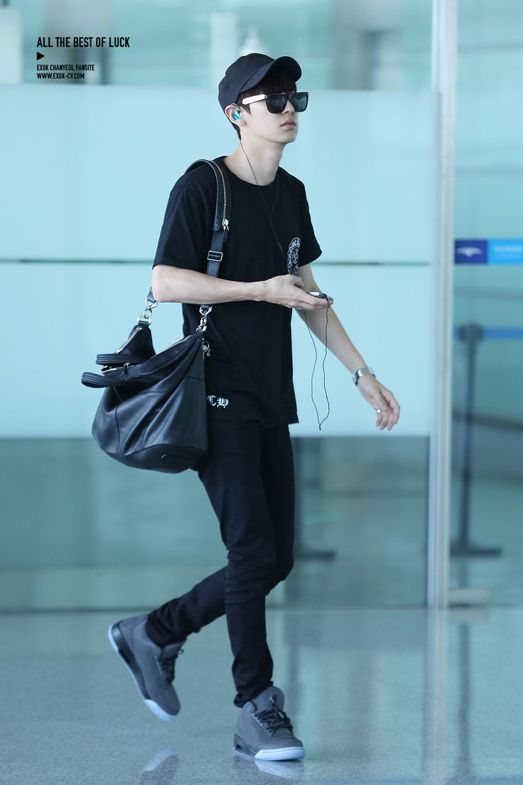 140728 EXO Chanyeol | Changsha Airport to Incheon