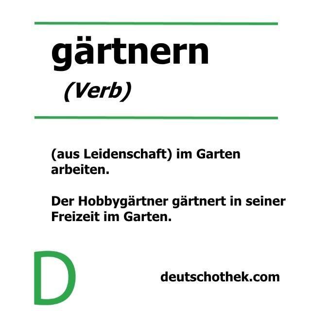 #WortderWoche #wordoftheweek #gardening #garden #gardener #Garten #gärtnern #Gärtner #Pflanzen #plants #soil #Deutschothek #Deutschschule #DeutscheSprache #Sprachschule #LanguageSchool #LearnGerman #GermanLanguage