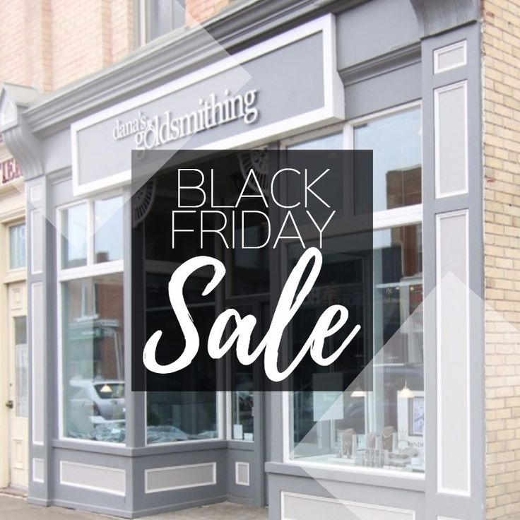 This Friday, November 24 ONLY: Our once a year BLACK FRIDAY SALE! 25% OFF all in stock items. HALF PRICE on all CLEARANCE items. Some exclusions. 10am to 8pm. #jewelery #jewellery #sale #ring #necklace #pendant #watch #bracelet #blackfriday https://www.danasgoldsmithing.com/