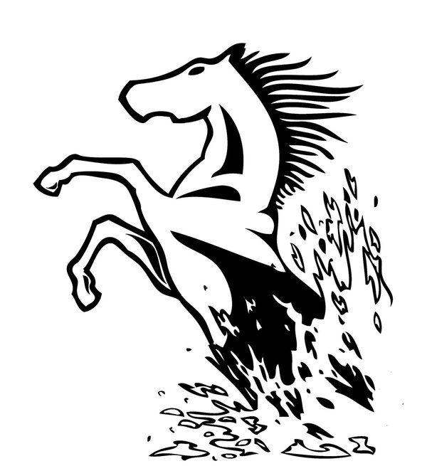 23 best images about horses on pinterest clip art deer skulls and laser cut metal. Black Bedroom Furniture Sets. Home Design Ideas