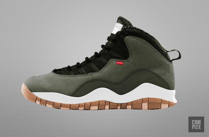 Supreme Jordan X Supreme x Air Jordan Collab Sneakers We Wish Were Real   Complex UK
