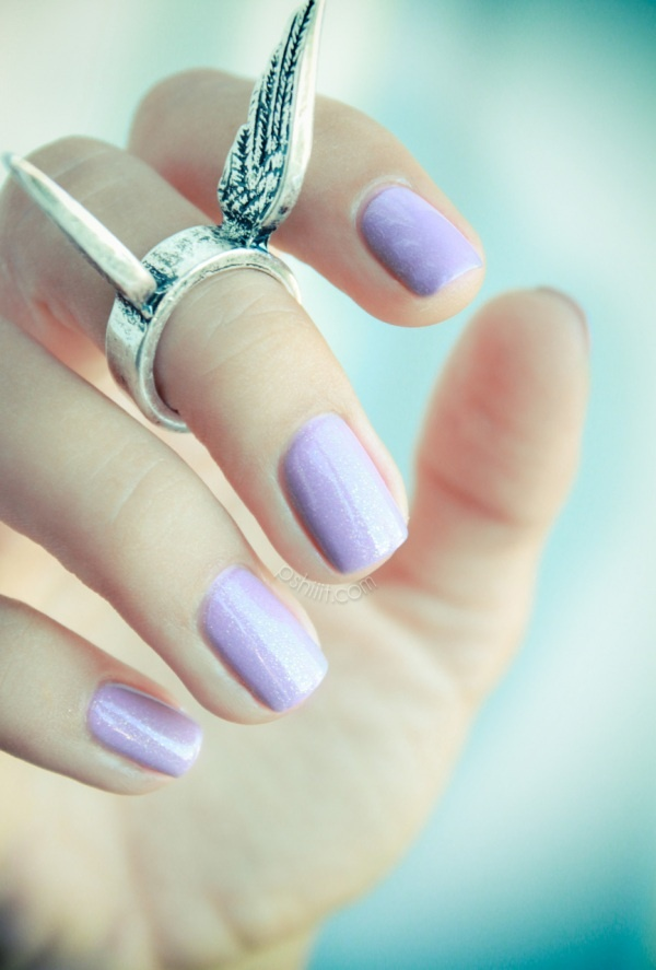 .: Spring Color, Spring Nails, Wings Rings, Purple Nails, Pastel Nails, Nails Polish, Opi Nails Color, Cirque Vaudevil, Lilacs Nails