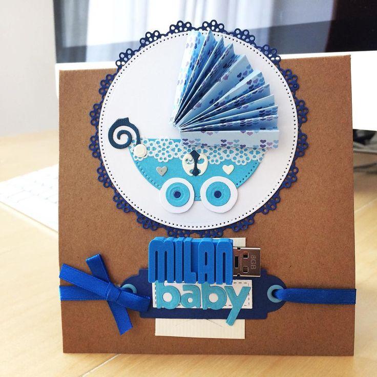 Usb z našej dielne na krásnej, ručne robenej darčekovej karte. Dokonalý 🎁 darček na akúkoľvek príležitosť 😊 USB flash drive with gift card for a newborn baby 😍 #dnestvorim #dnesinspirujem #3d#scrapbooking #newborn #newbornbaby #newborngifts #madeinslovakia #vyrobenenaslovensku #novorodeniatko #darcek #mamicka #novyprirastokdorodiny #layerica