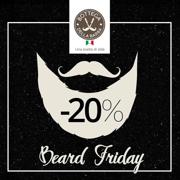 Beard Friday: 20% di sconto su tutti i prodotti di Bottega della Barba. I migliori prodotti per la rasatura e cura di barba e capelli viso e corpo: solo fino a lunedì 28 novembre. Approfittane subito! Utilizza il codice sconto BDBBLACKFRIDAY e avrai un ulteriore sconto del 5% sul prossimo ordine ;) http://ift.tt/1U5dXZ1  #blackfriday #bottegadellabarba #beard #beardoil #beardsoap #shave #shaving #shavingcream #beardoftheday #beardbrush #beardgrooming #groomingproducts #shavingbrush…