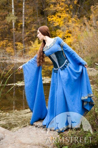 Ceinture corset médiévale en suède « Dame du Lac »