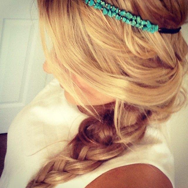 Vlecht! #hair #blond